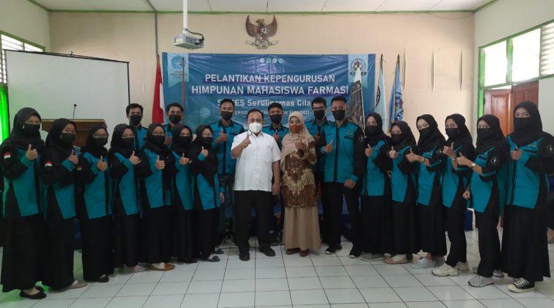 Pelantikan Kepengurusan Himpunan Mahasiswa Farmasi (HIMAFA) Periode Tahun 2020-2021